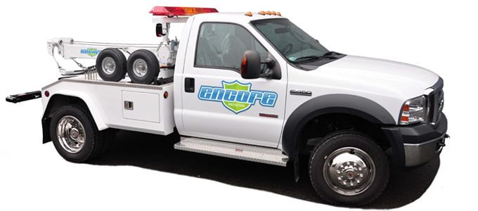 Towing Provided by Encore Protection's Emergency Dispatch System