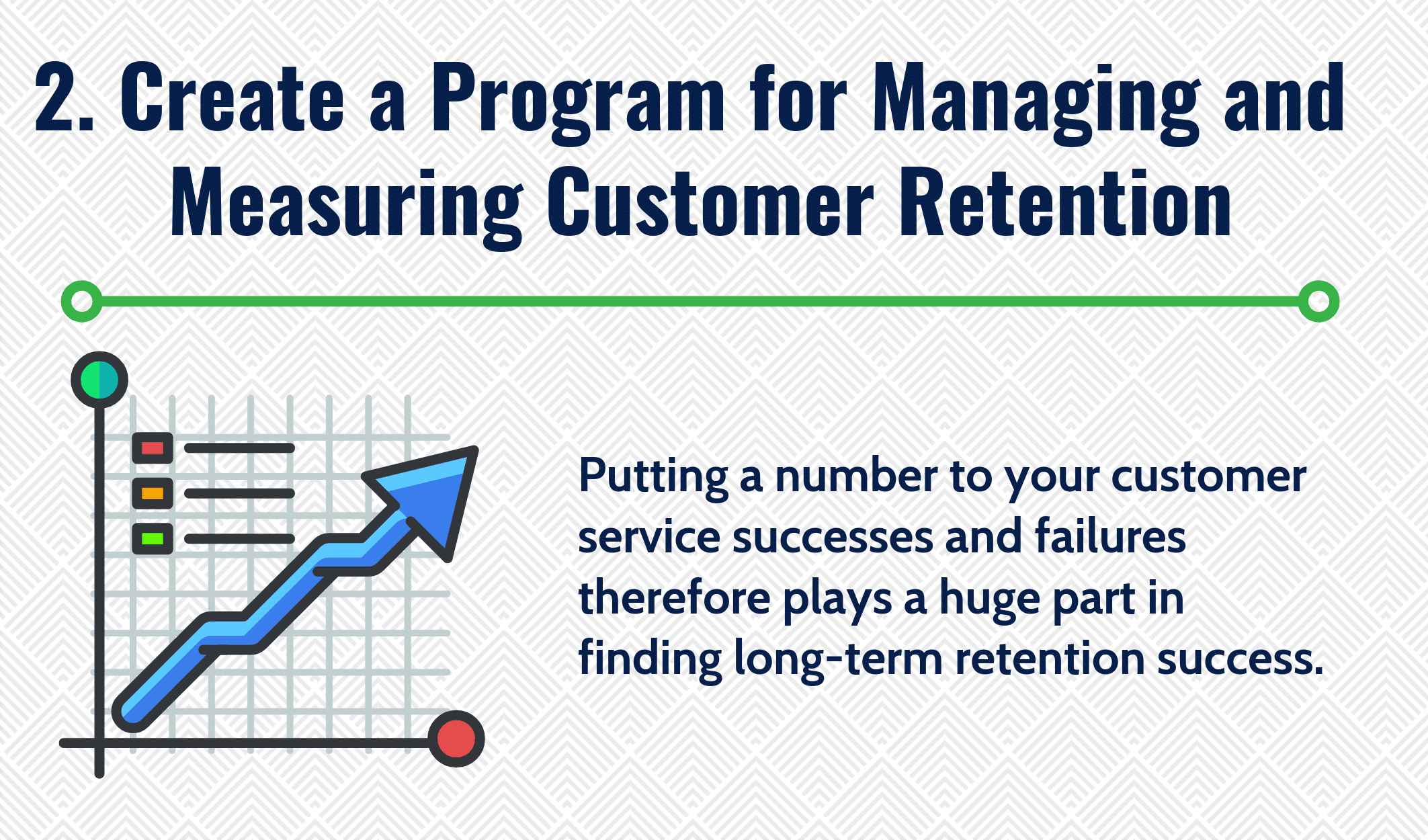 Create a Program for Managing and Measuring Customer Retention