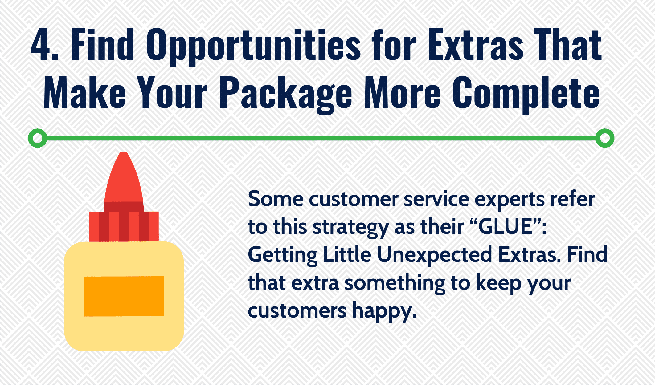 Find Opportunities for Extras That Make Your Package More Complete