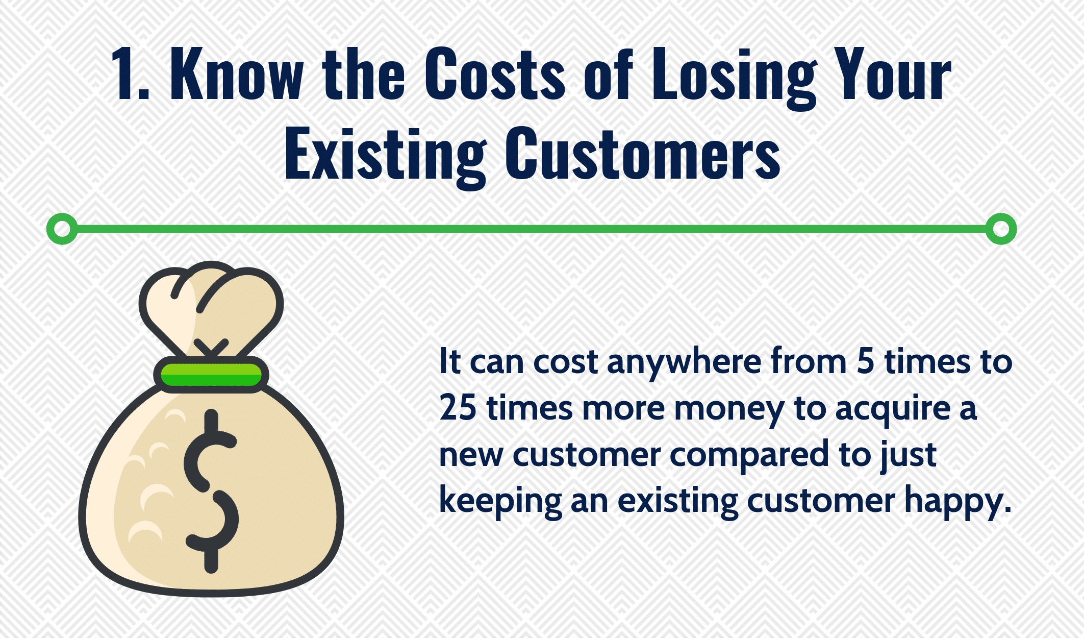 Know the Costs of Losing Your Existing Customers