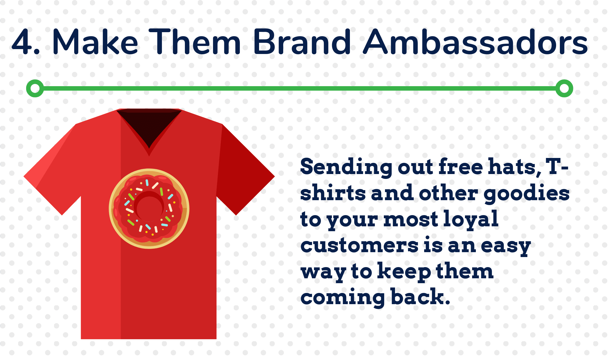 4. Make Them Brand Ambassadors